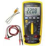 Multímetro Digital Profissional Hikari Hm-2300 True Rms Prova de agua