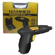 Parafusadeira Hammer Mandril 1/4'' Sem Fio Bivolt Com Maleta PF48K