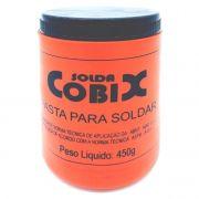 Pasta De Solda Cobix 450g Fluxo Mistura Pastosa Decapagem