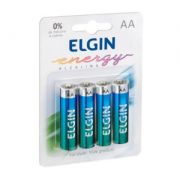 Pilha Alcalina AA Energy Lr6 1,5v 82153 Elgin