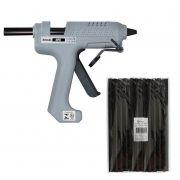 Kit Pistola Cola Quente Hikari Hpc-280 + 1 Kg Cola Preta