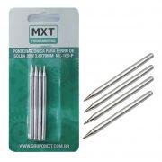 Ponta conica para ferro de solda 30W MXT - com 4 unidades