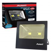 Refletor Led 100w Cob Avant Ip65 Branco Frio 6500k  IP 65 Potencia Real