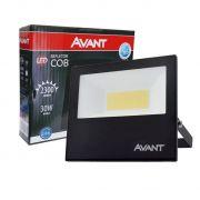 Refletor Led 30w Cob Avant Ip65 Branco Frio 6500k  IP 65 Potencia Real