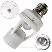 Sensor Presença Infravermelho E27 lampadas Comuns e Led Fotocelula