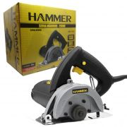 Serra Mármore Hammer 100% Rolamentada 1100w  Sm1100 - 220v
