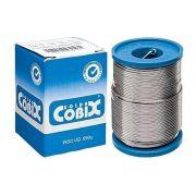 Estanho Solda Fluxo Cobix 250g Azul 60x40 1mm