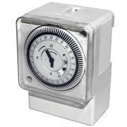 Timer Temporizador Industrial Elcon DQ 189 16 A Trilho Din c/ 96 Programações