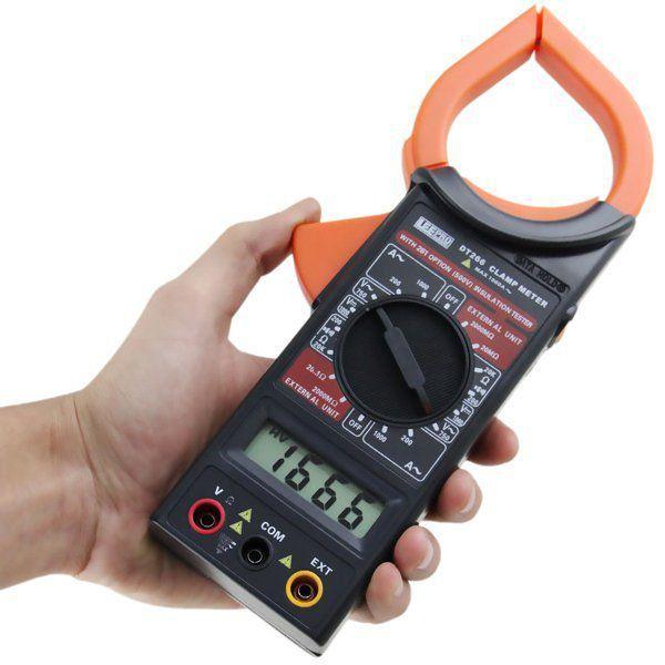 Alicate Amperímetro multimetro  Digital FT 266  - EMPORIO K