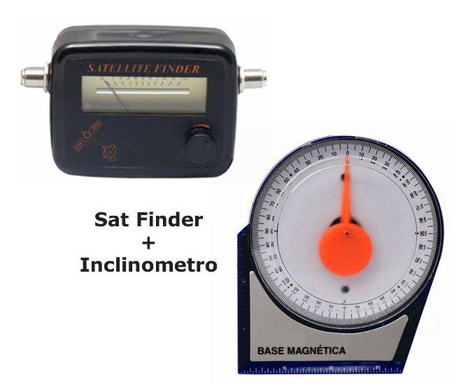 Kit Parabolica Inclinometro, Nivel Angular, Satelite Finder  - EMPORIO K