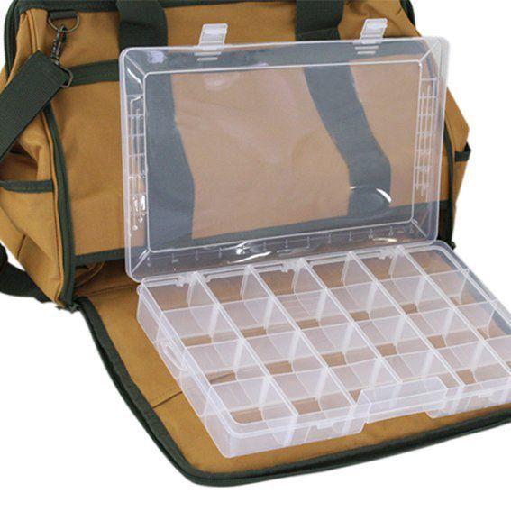 Bolsa Ferramentas 18 Bolsos C/porta Parafusos Lee Tools 674980  - EMPORIO K
