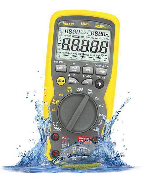 Multímetro Digital Profissional Hikari Hm-2920 Usb Wireless  - EMPORIO K