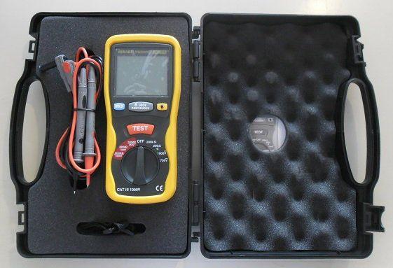 Megômetro Digital Profissional Hikari - Hmg-550  - EMPORIO K