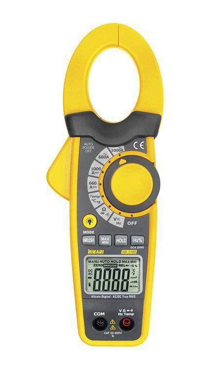 Alicate Amperímetro Digital Profissional Ha-3700 Hikari  - EMPORIO K
