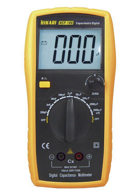 Capacímetro Digital Hikari Hcp-100 Hikari  - EMPORIO K