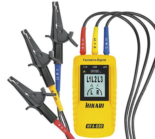 Fasímetro Digital Hikari Linha Profissional Hfa-690  - EMPORIO K