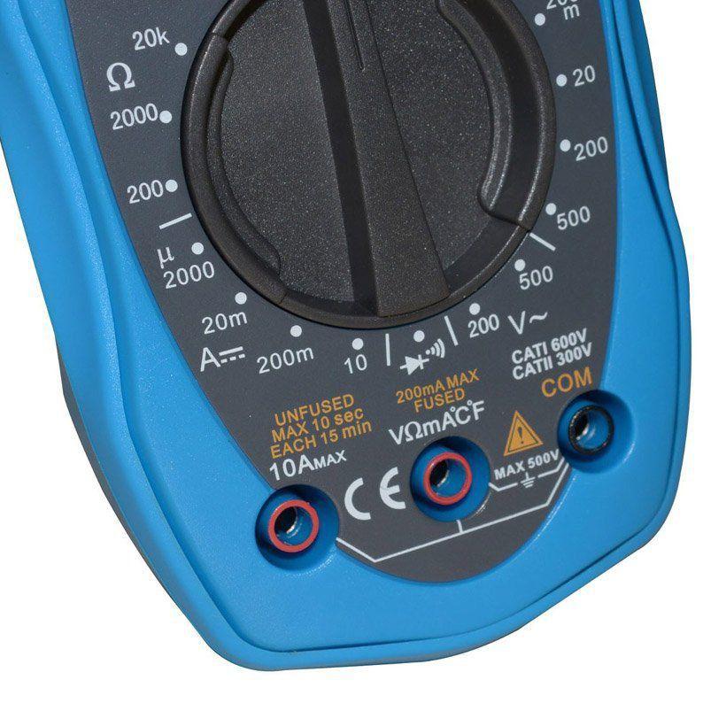 Alicate Amperímetro Digital Et-3200 Minipa Profissional  - EMPORIO K
