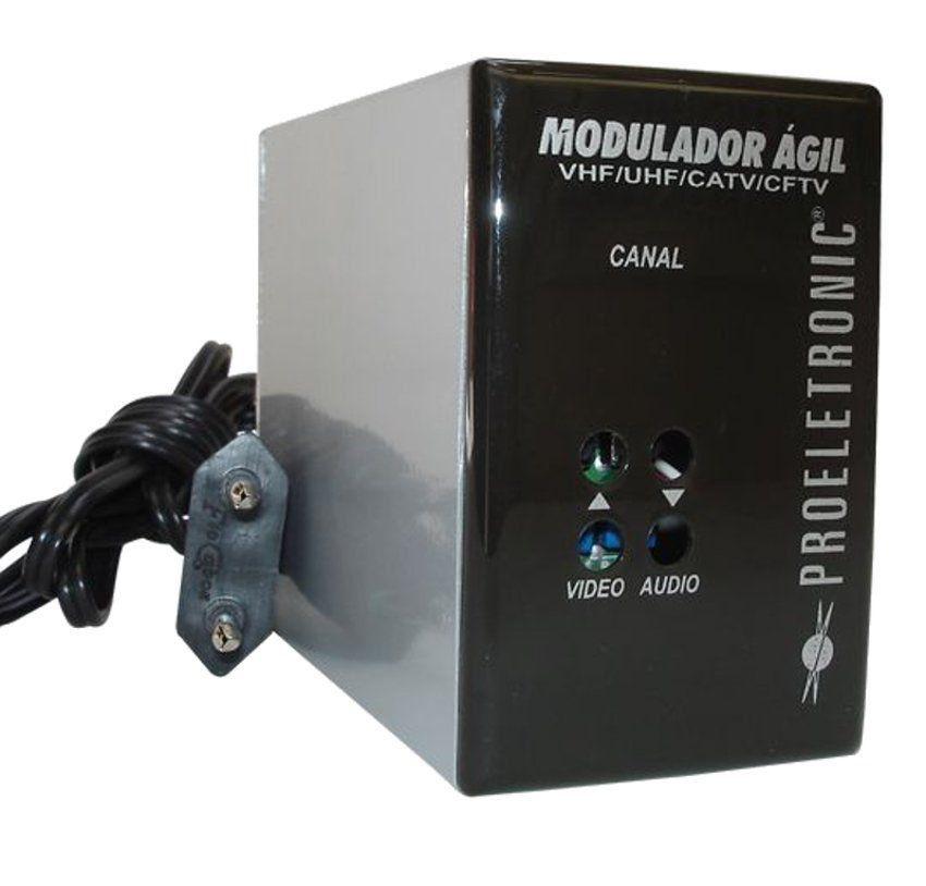 Modulador Agil Proeletronic  100 Canais PQMO-2600B  - EMPORIO K