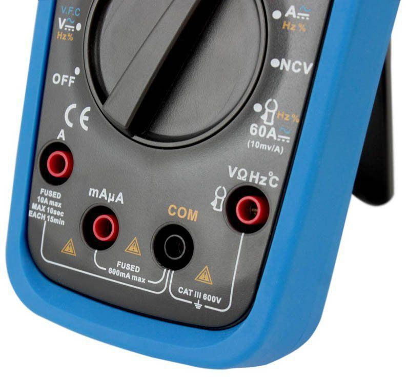 Multímetro Digital Minipa ET-1649 CAT III 600V True Rms  - EMPORIO K