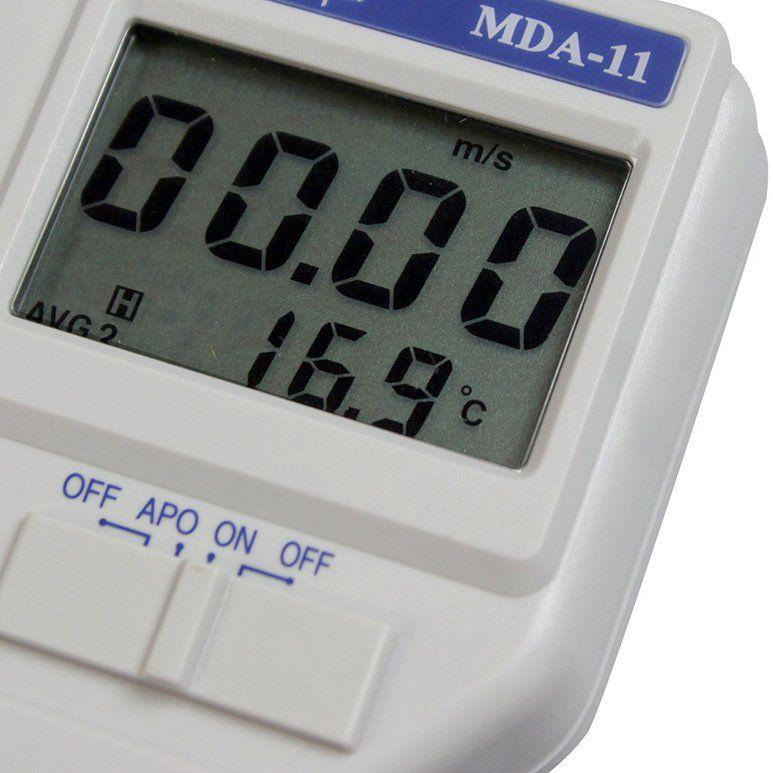Termômetro Anemômetro Digital Display MDA-11 Minipa  - EMPORIO K