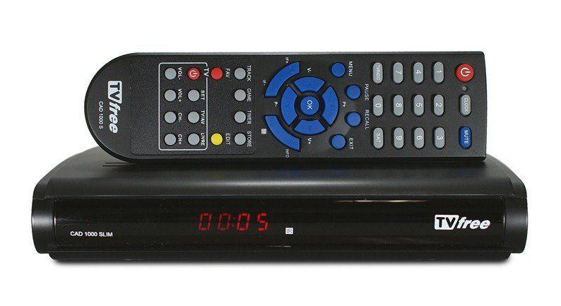 Receptor  Digital/Analógico Cromus  Tv Free CAD 1000 com Rádio FM/AM  - EMPORIO K