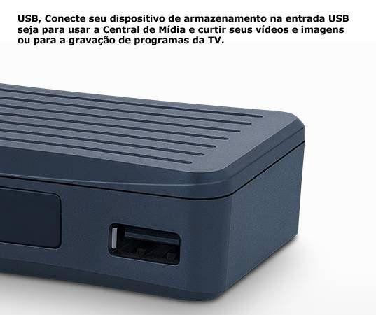 Conversor Digital Full Aquario HD Compacto DTV-4000 S  - EMPORIO K
