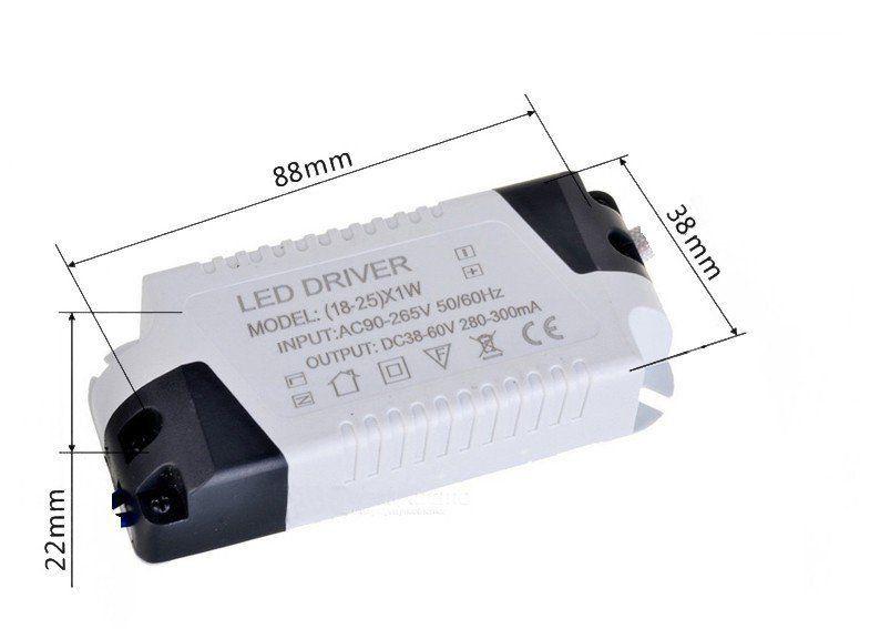 Drive Led Reator Fonte Para Plafon  , 12w , 18w ou 25w  - EMPORIO K