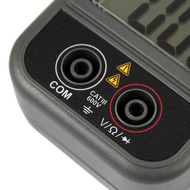 Alicate Amperímetro Digital com Abertura da Garra de 40mm Minipa ET-3111  - EMPORIO K