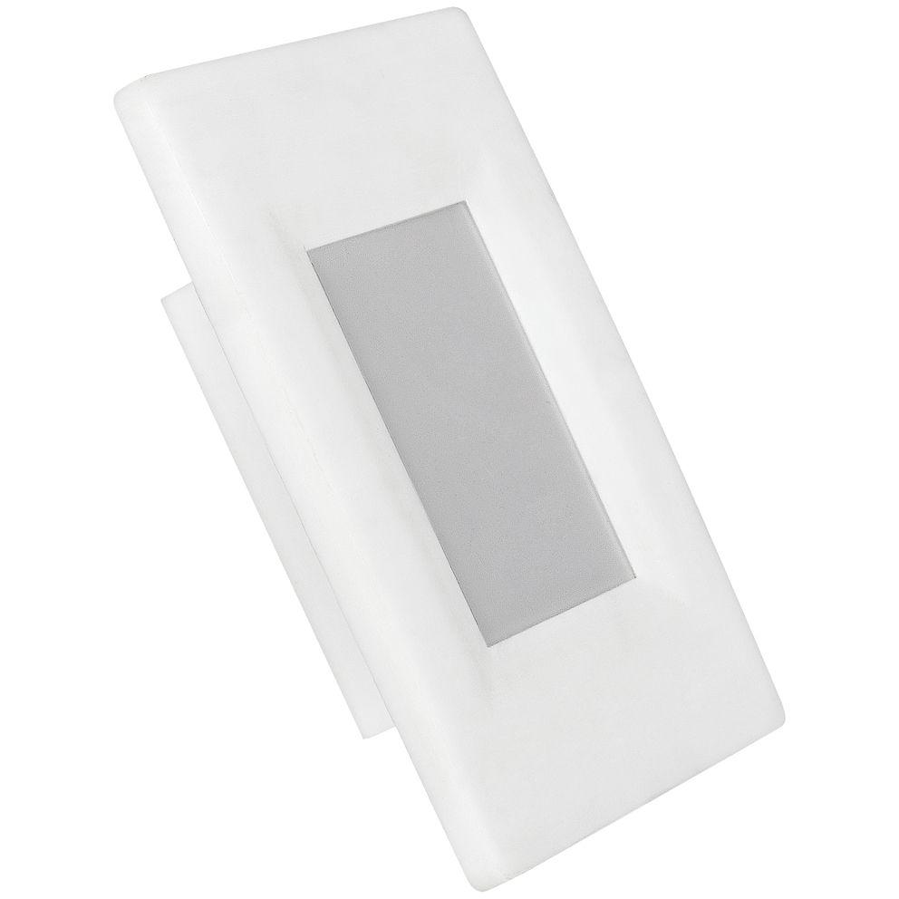 Balizador LED 4X2 AVANT 2W  Bivolt  Branco Frio 6500k  - EMPORIO K