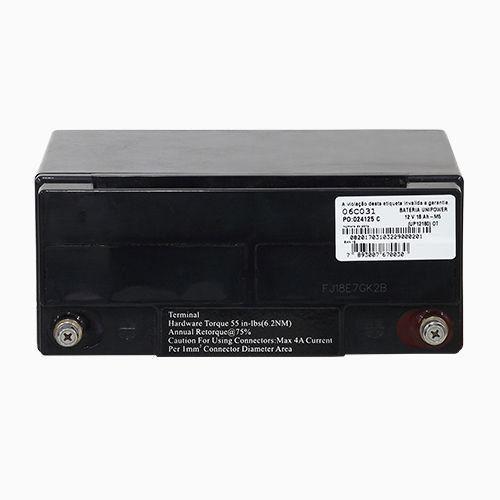 Bateria Selada Unipower VRLA 12V 18Ah UP12180  - EMPORIO K