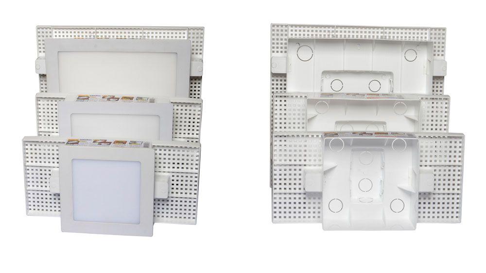 Caixa Embutir Plafon Painel de Led 24w na Laje Plasled  - EMPORIO K