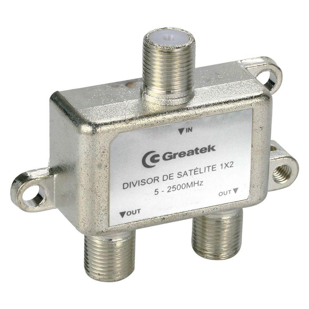 Divisor De Sinal 1 X 2 para Vhf/Uhf/Catv Alta Frequencia Greatek  - EMPORIO K