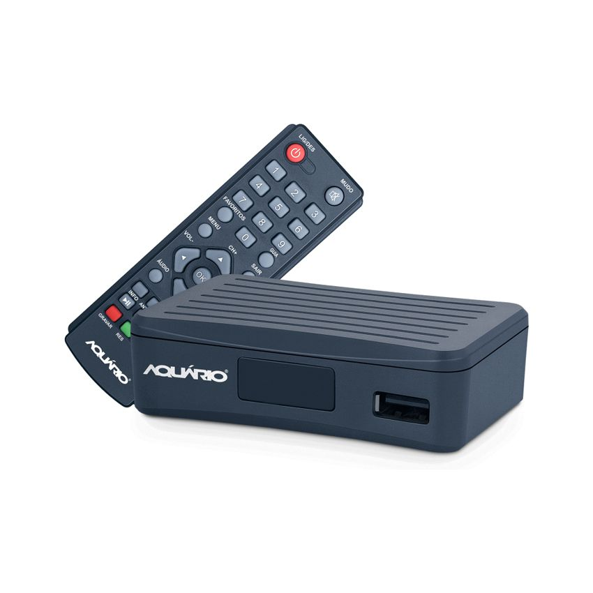Kit Antena Uhf + Conversor Digital Aquario 4000s + Cabo 15m  - EMPORIO K