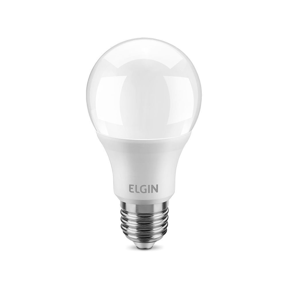 Lampada Led 9w Elgin Bulbo A60 Inmetro 6500k Branco Frio  - EMPORIO K