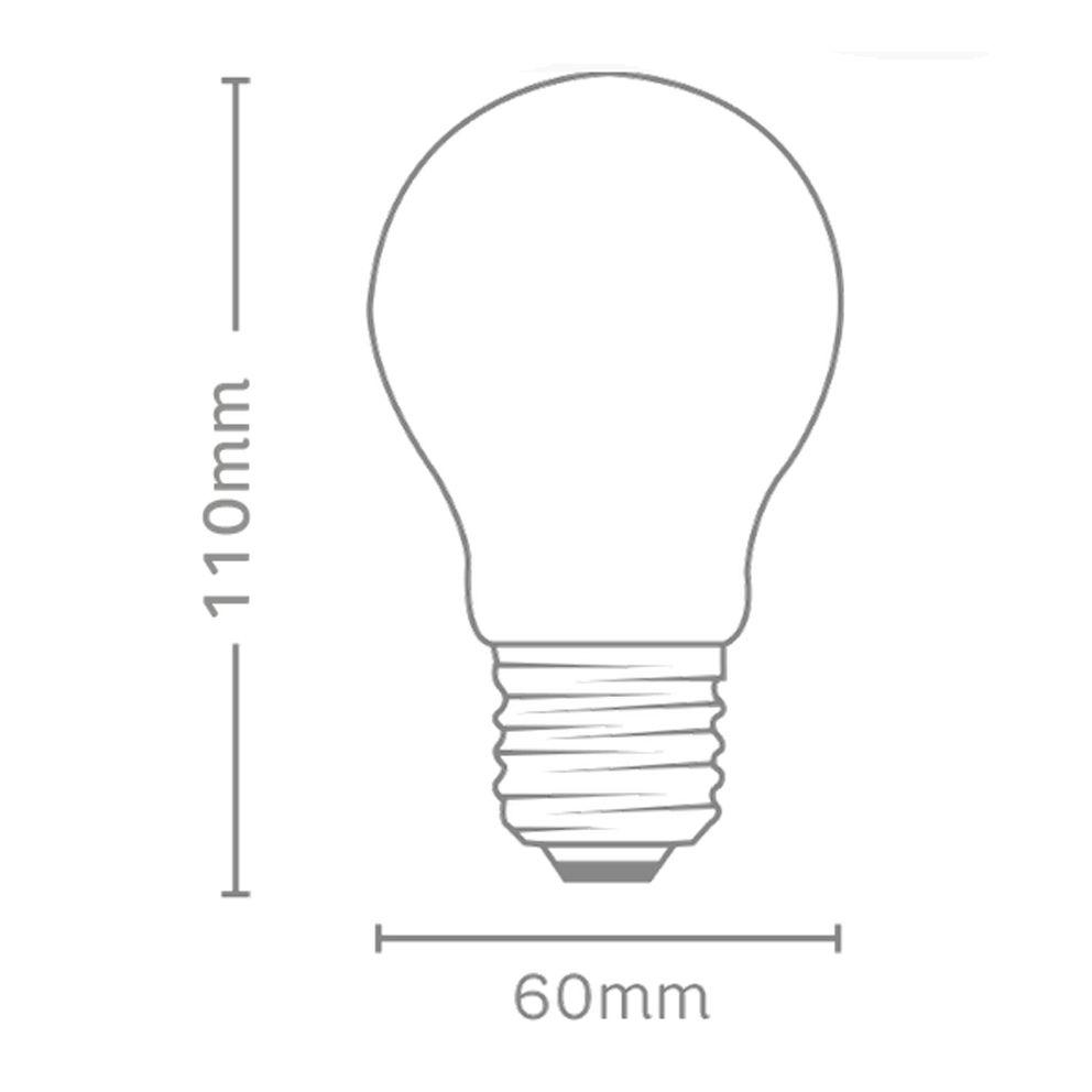 Lampada Led 9w Elgin Bulbo A60 Inmetro 3000k Branco Quente  - EMPORIO K