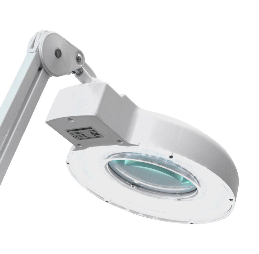 Lupa De Bancada Com Iluminação Led 5x Solver HL-500  - EMPORIO K