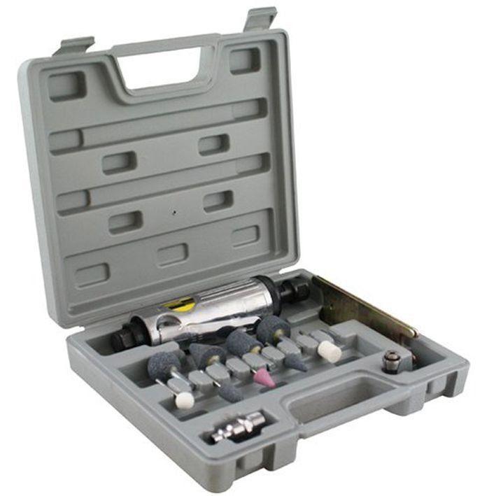 Mini Retífica e Esmeril Pneumático 8NJ com Maleta e Acessórios Eda  - EMPORIO K