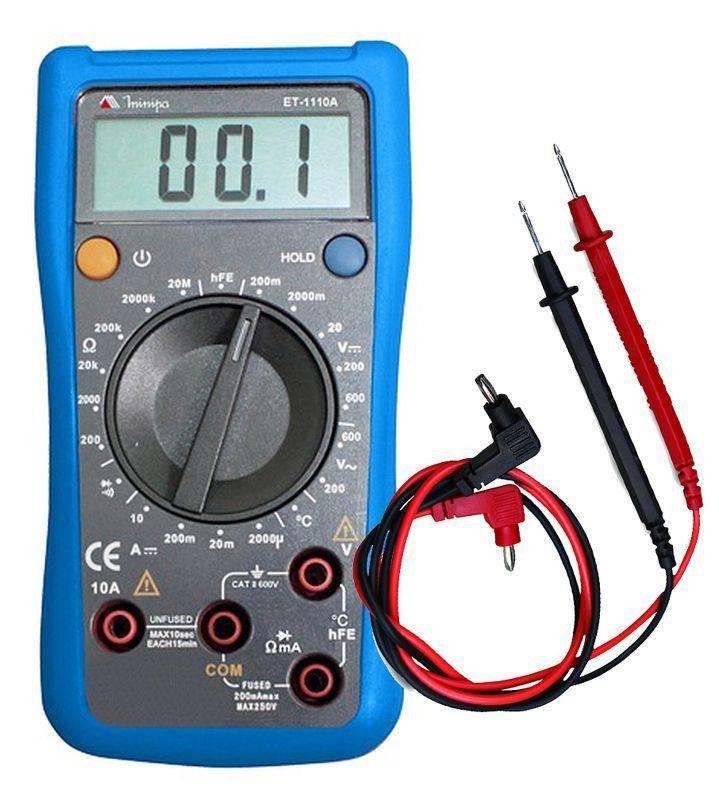 Multimetro Digital ET-1100A  Minipa  - EMPORIO K