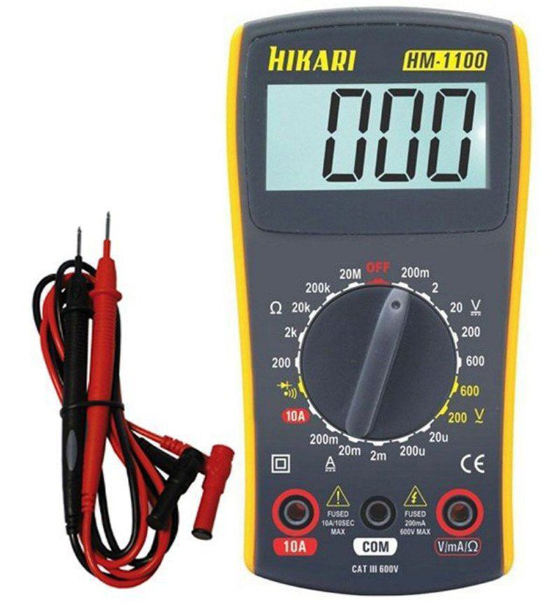 Multimetro Digital Hikari HM-1100 Ac/Dc Resistencia Diodo  - EMPORIO K