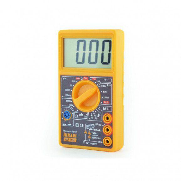 Multímetro Digital HM-1001 - Hikari  - EMPORIO K