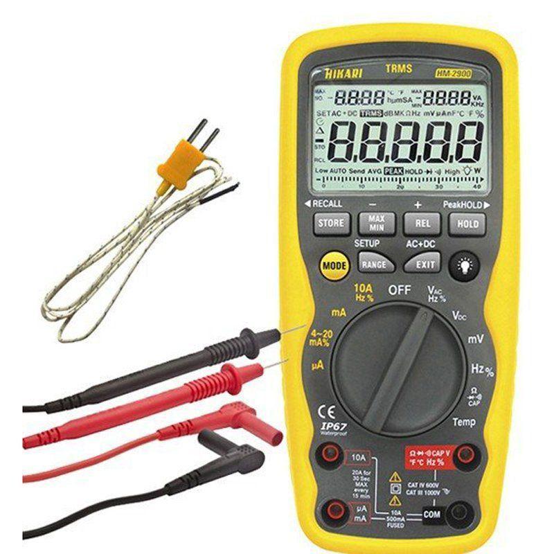 Multímetro Digital Profissional Hikari Hm-2900  - EMPORIO K