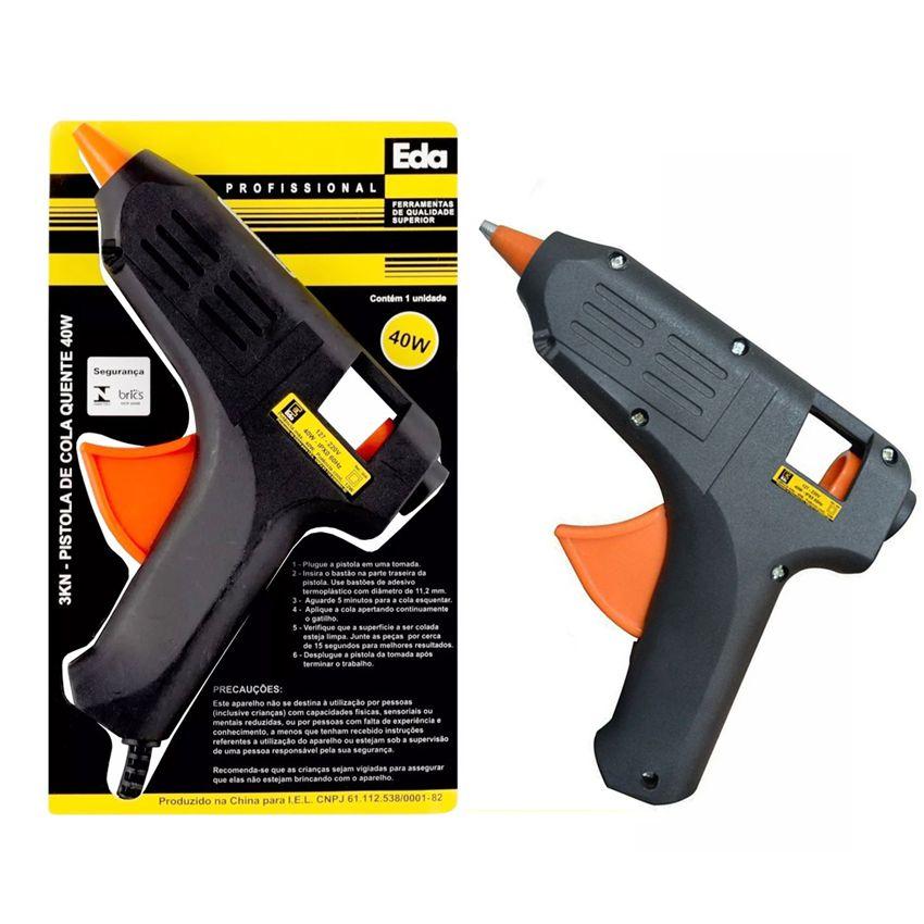 Pistola Cola Quente Silicone 40w Bivolt Com Selo Inmetro 3kn  - EMPORIO K