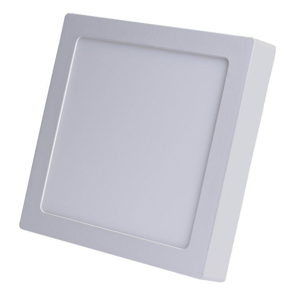 Plafon Led Quadrado 24w Painel Sobrepor Avant  - EMPORIO K