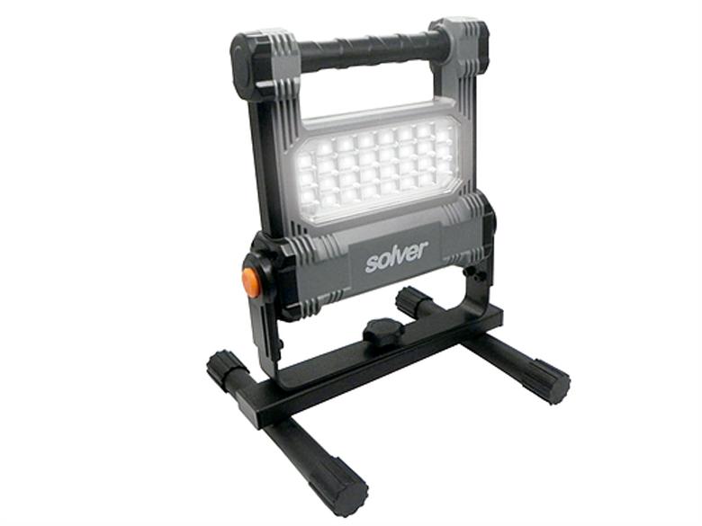 Refletor Portátil Pro Recarregável LED Solver SLP-501  - EMPORIO K