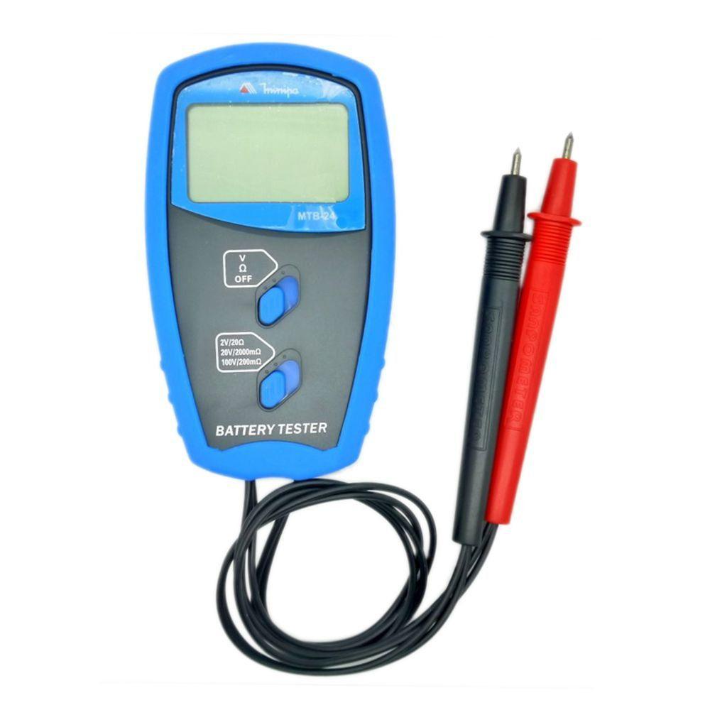 Testador De Bateria Minipa Mtb-24  Maleta Ponta Prova e bateria  - EMPORIO K