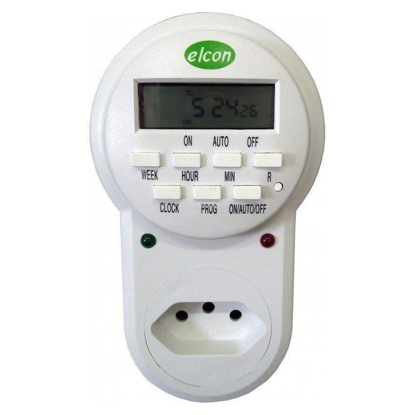 Timer Temporizador Digital Elcon Te-30 ( Minimo 1 segundo) 10A  - EMPORIO K