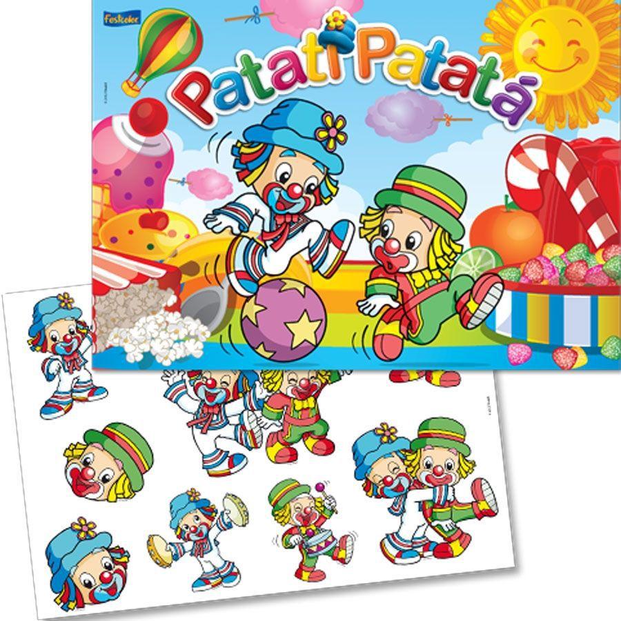 Kit Decorativo Patati e Patatá Baby