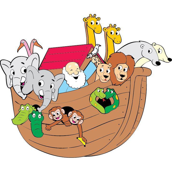 Painel Arca de Noé E.V.A