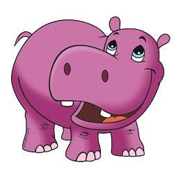 Mini Painel Hipopótamo E.V.A