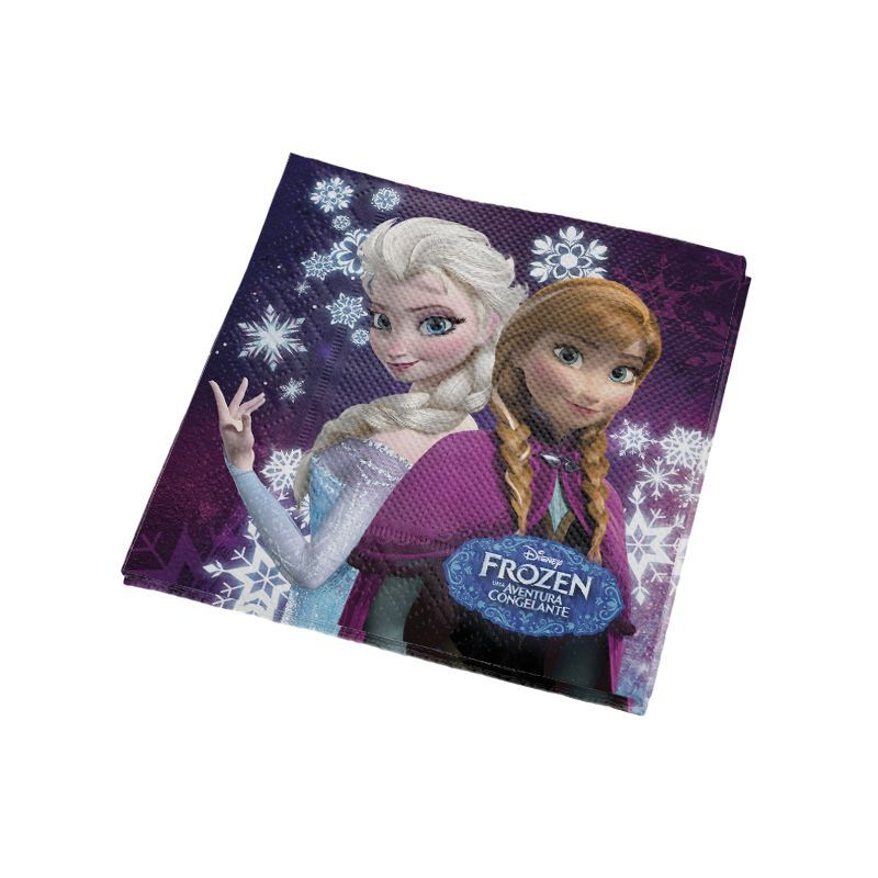 Guardanapo Frozen - 16 unidades